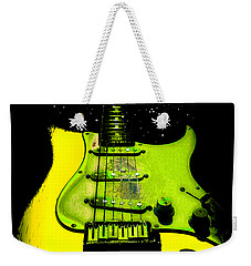 Yellow Guitar Full Time Occupation Weekender Tote Bag