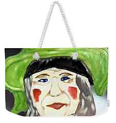Yellow Hat Weekender Tote Bag