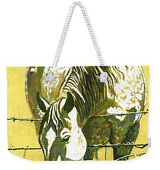 Yellow Horse Weekender Tote Bag