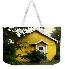 Yellow House In Shantytown  Weekender Tote Bag
