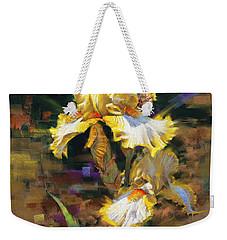 Yellow Iris II Weekender Tote Bag