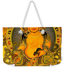 Yellow Jambhala 3 Weekender Tote Bag