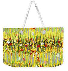 Yellow Jazz Weekender Tote Bag