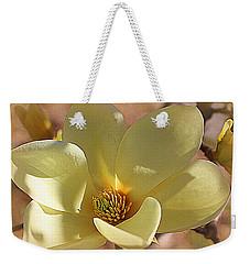 Yellow Magnolia In Full Bloom Weekender Tote Bag