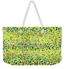 Yellow Mirage Weekender Tote Bag by Lynne Taetzsch