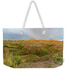 Yellow Mounds Morning Weekender Tote Bag