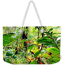 Yellow N Green Thicket Weekender Tote Bag