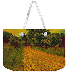 Yellow Oz Road Weekender Tote Bag