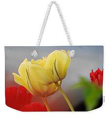 Yellow Pair Weekender Tote Bag