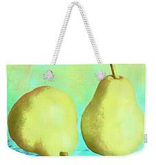 Yellow Pears Weekender Tote Bag