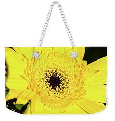Yellow Pedal Weekender Tote Bag