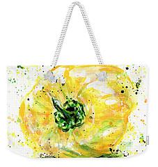 Yellow Pepper Weekender Tote Bag