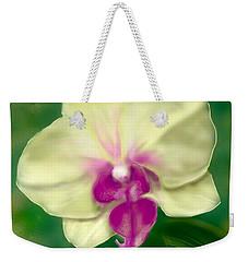 Yellow Phalenopsis Weekender Tote Bag