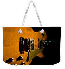 Yellow Relic Guitar Hover Series Weekender Tote Bag