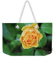 Yellow Rose Details Weekender Tote Bag
