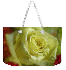 Yellow Rose Weekender Tote Bag by Garry McMichael