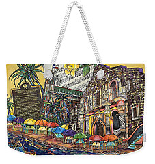 Yellow Rose Of Texas Weekender Tote Bag