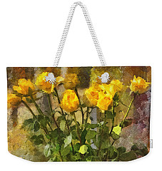 Yellow Roses Bouquet Weekender Tote Bag
