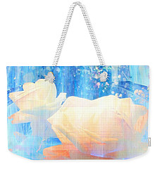 Yellow Roses By The Bridge Weekender Tote Bag by Annie Zeno