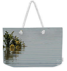 Yellow Roses Emerging From The Sea Weekender Tote Bag