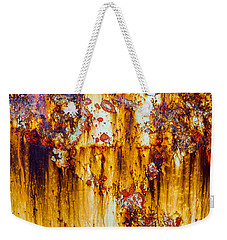 Yellow Rust Weekender Tote Bag