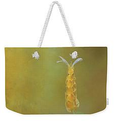 Yellow Shrimp Flower Weekender Tote Bag