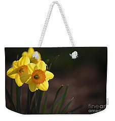 Yellow Spring Daffodils Weekender Tote Bag