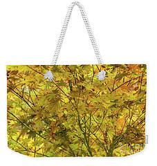 Yellow Spring Weekender Tote Bag by Iris Greenwell
