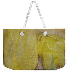 Yellow Strands Weekender Tote Bag