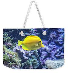 Yellow Tang Weekender Tote Bag