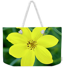 Yellow Threadleaf Weekender Tote Bag