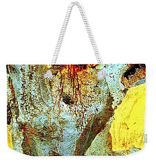 Yellow Tree - And  Ant  Australia Weekender Tote Bag