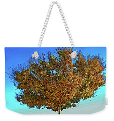 Yellow Tree Blue Sky Weekender Tote Bag