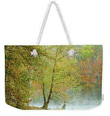 Yellow Trees Weekender Tote Bag by Iris Greenwell