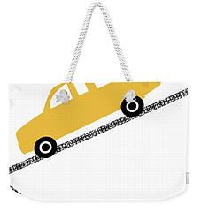 Yellow Truck On Road- Art By Linda Woods Weekender Tote Bag