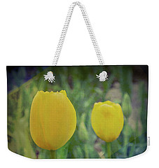 Yellow Tulip Art Weekender Tote Bag