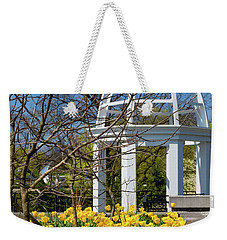 Yellow Tulips And Gazebo Weekender Tote Bag
