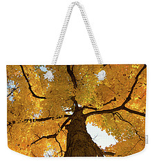 Yellow Up Weekender Tote Bag