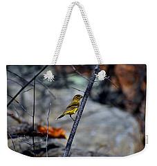 Yellow Warbler 2 Weekender Tote Bag