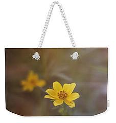 Yellow Wild Flower Weekender Tote Bag