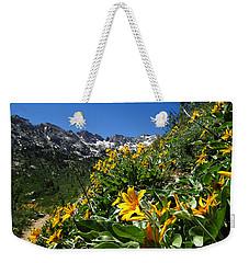 Yellow Wildflowers Weekender Tote Bag