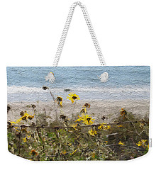 Yellow Wildflowers- Art By Linda Woods Weekender Tote Bag