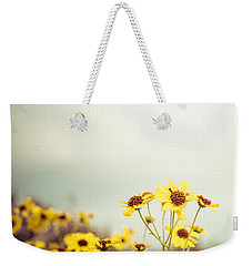 Yellow Wildflowers Weekender Tote Bag by Mary Hone