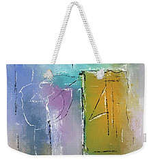Yellows And Blues Weekender Tote Bag