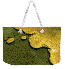 Yellowstone Art. Yellow And Green Weekender Tote Bag