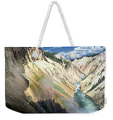 Yellowstone Canyon Weekender Tote Bag