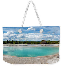 Weekender Tote Bag featuring the photograph Yellowstone Colors #11 by Scott Read