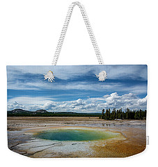 Weekender Tote Bag featuring the photograph Yellowstone Colors #12 by Scott Read