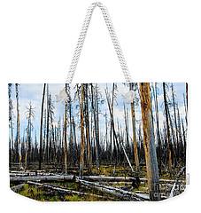 Yellowstone Fire Weekender Tote Bag