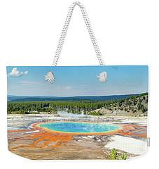 Yellowstone Grand Prismatic Spring  Weekender Tote Bag